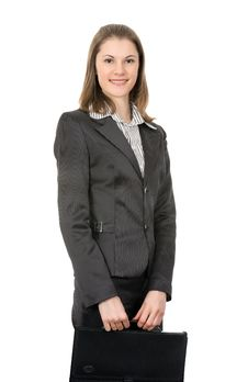 Free Smiling Businesswoman Stock Images - 8197564