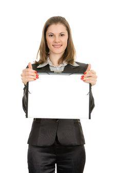 Free Smiling Businesswoman Stock Photo - 8197570