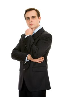 Free Businessman In A Suit Royalty Free Stock Photo - 8197595
