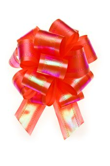 Free Red Bow Royalty Free Stock Photos - 8198028