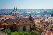 Free Red Roofs Of Prague Stock Photos - 8198303