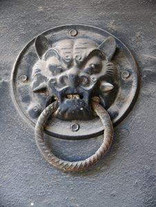 Free Decorative Arts Door Knocker Stock Images - 8198614