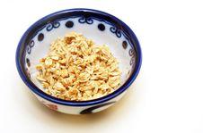 Free Bowl Of Granola Royalty Free Stock Photo - 8198955