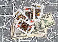 Free Cards, Money... Stock Photos - 8199263