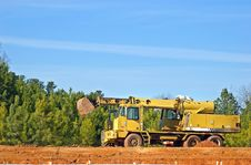 Free Construction Machinery Royalty Free Stock Photo - 8199735