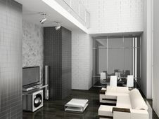Free Living Room Royalty Free Stock Images - 8199889