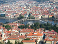 Free Prague Aerial View Royalty Free Stock Images - 826009