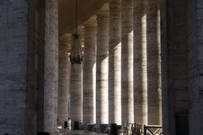 Free Columns In Basilica Of Saint Peter Stock Photos - 821003