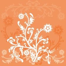 Free Floral Background, Vector Stock Images - 821074