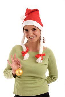 Free Cute Santa Stock Image - 821841