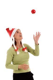 Free Christmas Spirit Royalty Free Stock Photography - 821877