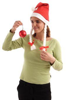 Free Pretty Santa Stock Images - 821904