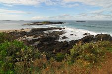 Free Headland At Sawtell, Australia Royalty Free Stock Photo - 822805