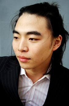 Free Asian Male Portrait Royalty Free Stock Photos - 822848
