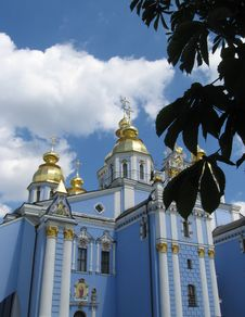 Free Church Sant-Mixail In Kyiv Royalty Free Stock Images - 823389