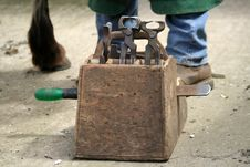 Free Blacksmith Tools Royalty Free Stock Image - 823786