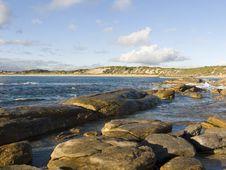 Granite Shoreline Royalty Free Stock Image