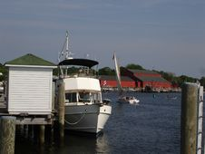 Free Mystic Seaport Harbor, Ct Stock Photos - 824633