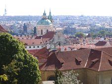 Free Prague General View Royalty Free Stock Image - 825966