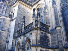 Free Prague Cathedral Elements Royalty Free Stock Images - 825969