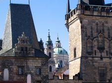 Free Prague Charles Bridge Stock Photos - 825973