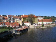Free Prague Vltava River Royalty Free Stock Photo - 825975