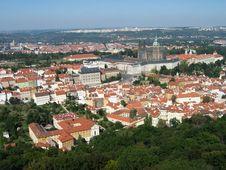 Free Prague General View Royalty Free Stock Photos - 826008