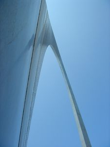 Free St. Louis Arch Angle Royalty Free Stock Images - 826519