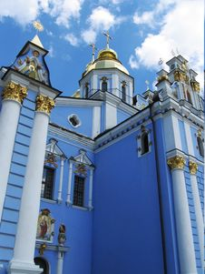 Free Sant Mixail Monastery In Kyiv Stock Images - 826614