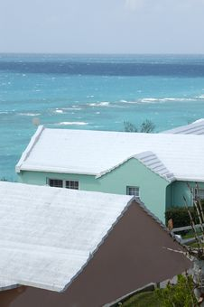 Free Bermuda Roof 4 Royalty Free Stock Photo - 827385