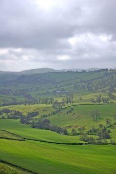 Free Landscape, Misty Hills Royalty Free Stock Photo - 827425