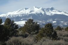 Free The Rockie Mountains Stock Photography - 828752