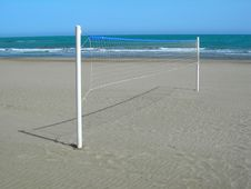 Free Volleyball Net Stock Images - 829614