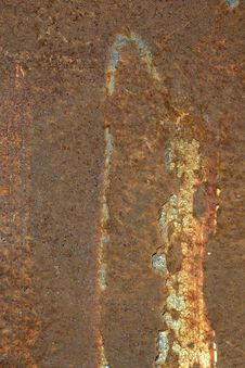 Free Rusty Plate Royalty Free Stock Photo - 829805