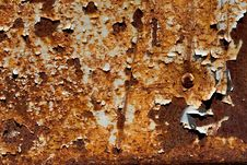 Free Rusty Plate Royalty Free Stock Photo - 829905