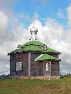 Free Wooden Church. Stock Photos - 829983