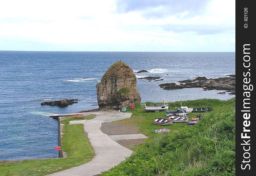 Staxigoe Harbour.