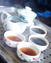 Free Chinese Teapot And Cups Stock Images - 8202724