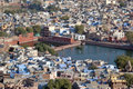 Free City From Bird S Eye View Stock Image - 8205311