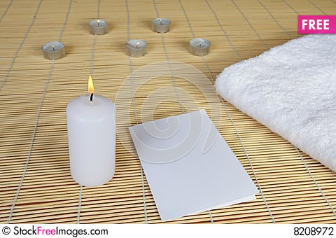Free Spa Objects Stock Photography - 8208972