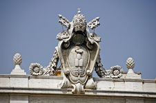 Free Emblem Of Vatican City Stock Photography - 8200222
