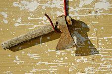 Free Rusty Axe Stock Image - 8200571