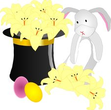 Free Bunny With Tophat Stock Photos - 8201573