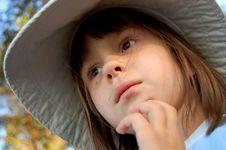 Portrait Of Girl Stock Image