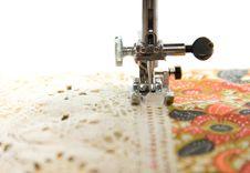 Free Sewing Machine Royalty Free Stock Photos - 8201918