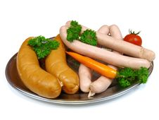 Free Sausages And Franks Stock Photos - 8201943