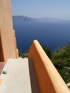 Free Sea View On Santorini, Greece Royalty Free Stock Photo - 8202115