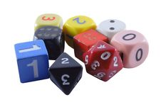 Free Collection Of Unusual Dice Royalty Free Stock Images - 8202289