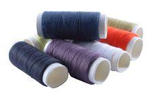 Free Cotton Reels Stock Photo - 8202350