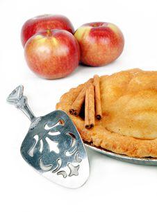 Free Freshly Baked Apple Pie Stock Image - 8203001